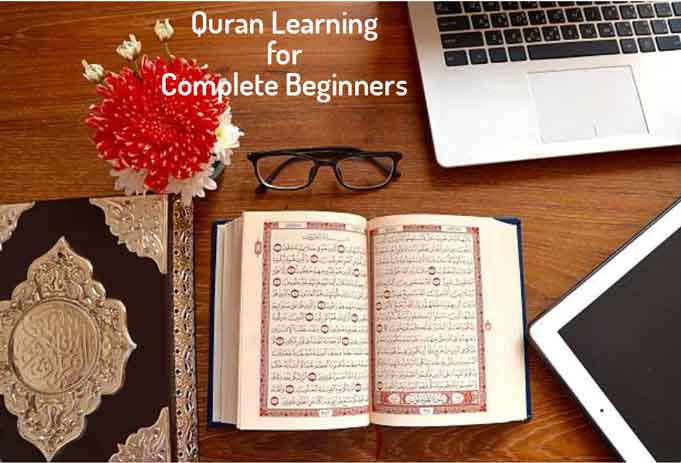learning Quran for beginners, learn quran online for beginners