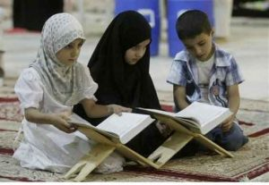 Encouraging children towards Islam