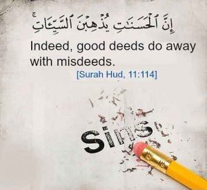 good deeds erase bad deeds